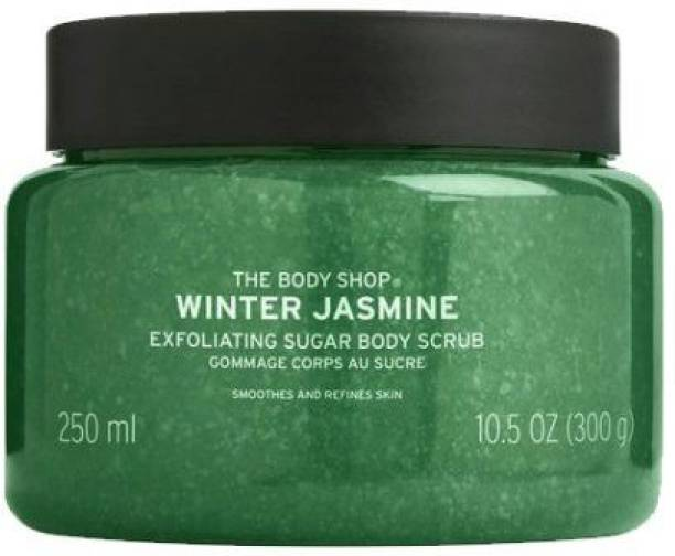 THE BODY SHOP Winter Jasmine Exfoliating Sugar Body  Scrub