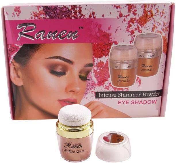 Ranen Intense Shimmer Powder Eye Shadow Rose Gold Color
