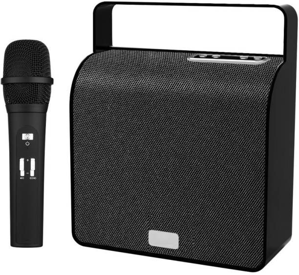 LANDMARK Storm Wireless Speaker With Mic LM BT7044 Bluetooth Party Speaker Storm Wireless Speaker with Mic LM TBS7044 Bluetooth Party Speaker Black Outdoor PA System