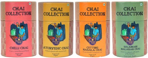Karma Kettle Special Chai Collection - Set of 4 Green Tea Vacuum Pack