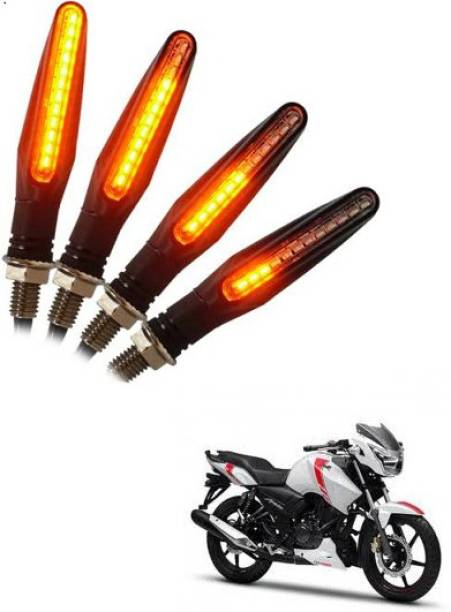 Semite Front, Rear LED Indicator Light for TVS Apache RTR 160