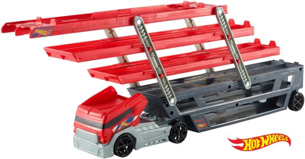 HOT WHEELS Mega Hauler Truck, Stores more than 50 Cars
