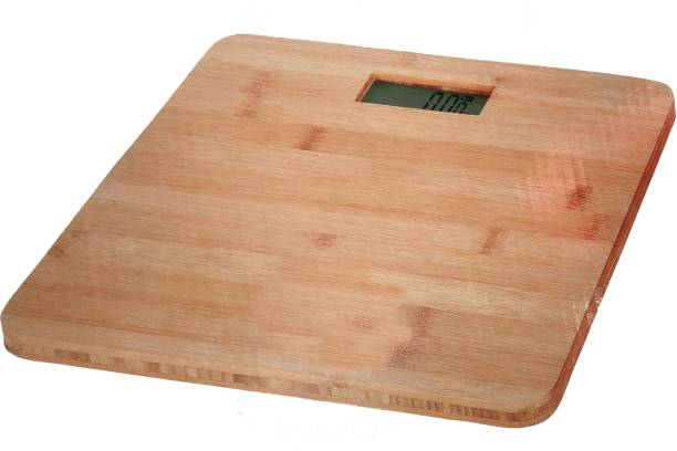 Weightrolux Ultra-Lite Digital Personal Body Weighing Scale, Strong & Best Wooden Build Electronic Bathroom Scales & Weight Machine for Home & Human Balance 180Kg Capacity Weighing Scale
