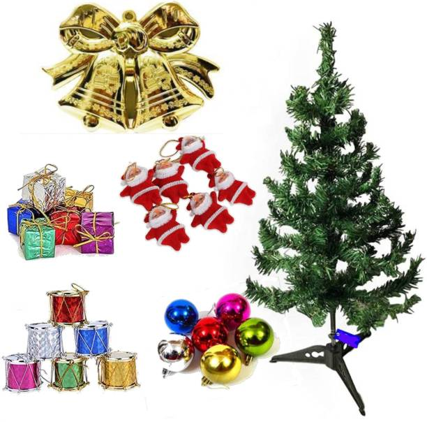 THE CLICK INDIA Generic 30 cm (0.98 ft) Artificial Christmas Tree