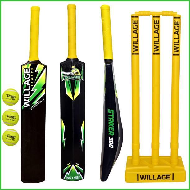 WILLAGE Plastic bat , Plastic bat full size , Plastic Cricket Bat PVC/Plastic Cricket  Bat