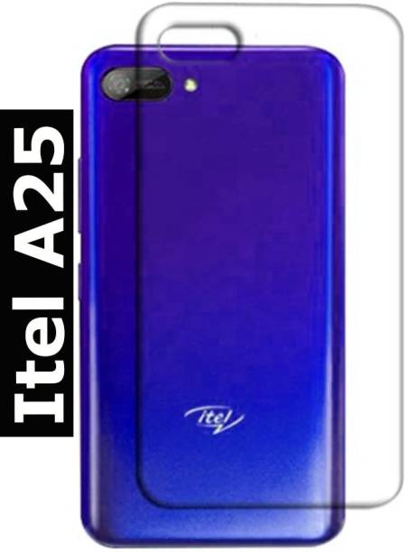 TrenoSio Back Cover for Itel A25 Transparent