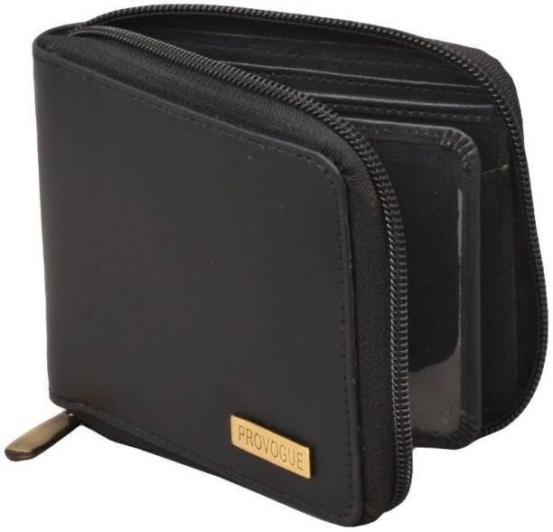 PROVOGUE Men Black Genuine Leather Wallet