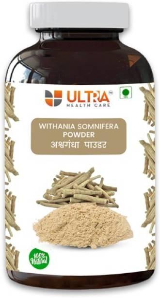 Ultra Healthcare Natural Ashwagandha Root Powder|Boosting immunity|Mental wellness|General Wellness |Rejuvenates mind & body|100% Pure