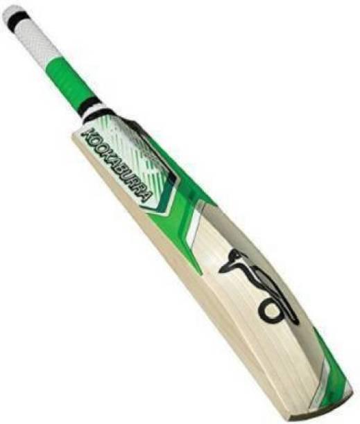 DSK KOOKABURRA Size 5 Kahuna Kashmir Poplar Willow Tennis Cricket Bat (0.8 kg) Poplar Willow Cricket  Bat