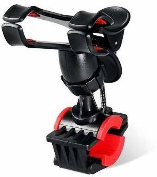 Paramits Universal Clip Mobile Phone Holder Adjustable 360 degree Bike/Bicycle Handlebar Mount & Stand Bike Mobile Holder