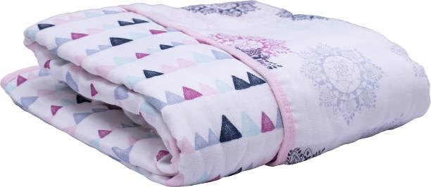 Creative Corner Printed Double Swaddling Baby Blanket