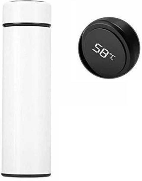 GUG LED Temperature Vacuum Flasks Display Touch ThermalBottle with Stainless Steel 500 ml Flask