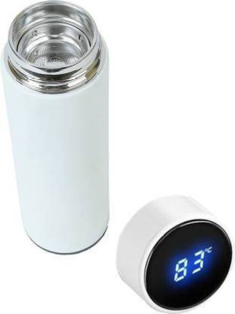 MAHI ENTERPRISE Display Indicator Insulated Stainless Steel Hot & Cold 450 ml Flask