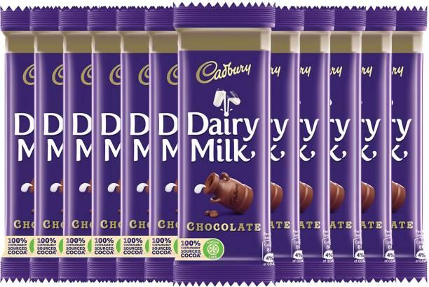 Cadbury Dairy Milk Mahapack, 50g - Pack of 12 Bars