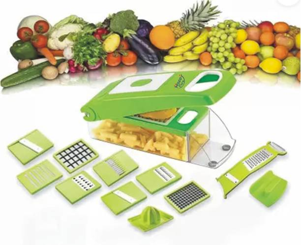 Happy Care 12 in 1 Multi-Function Chopper, Vegetable & Fruit Slicer, Chopper, Vegetable & Fruit Grater & Slicer