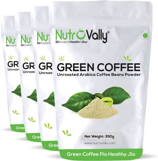 NutroVally green coffee powder for weight loss Unroasted Instant Coffee