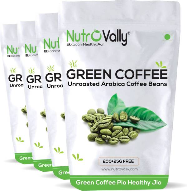 NutroVally green coffee beans for weight loss Unroasted Instant Coffee