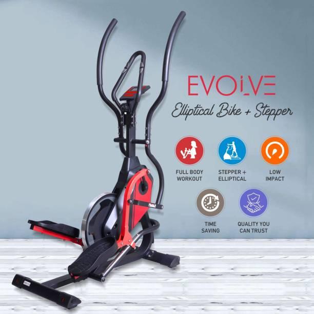 Reach Evolve Elliptical Cross Trainer + Climber with Wool Felt Resistance Cross Trainer