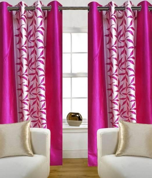 R Trendz 152 cm (5 ft) Polyester Window Curtain Single Curtain