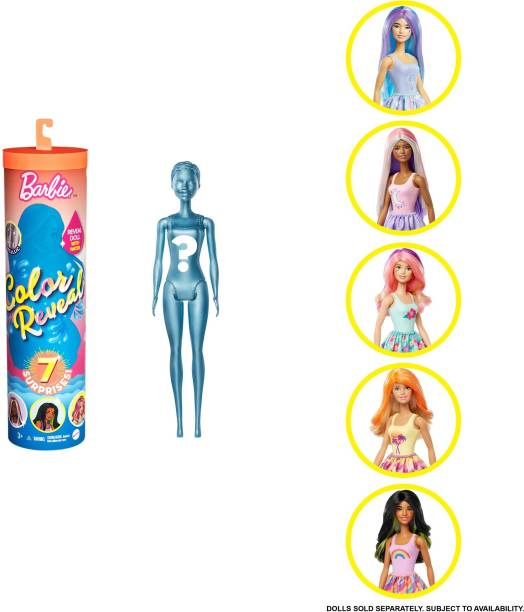 BARBIE COLOR REVEAL DOLL ASSORTMENT