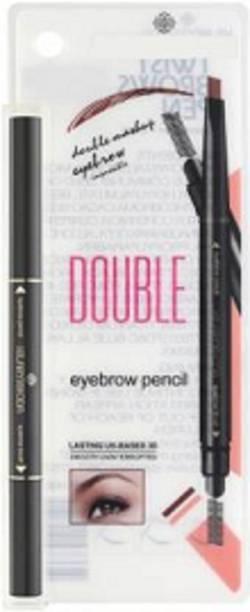 Hilary Rhoda Eyebrow Pencil with eyebrow Brush - Deep Black (Black)
