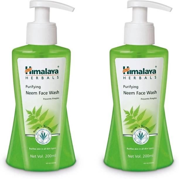 HIMALAYA PURIFYING NEEM FACE WASH 200 ML ( COMBO PACK ) Face Wash
