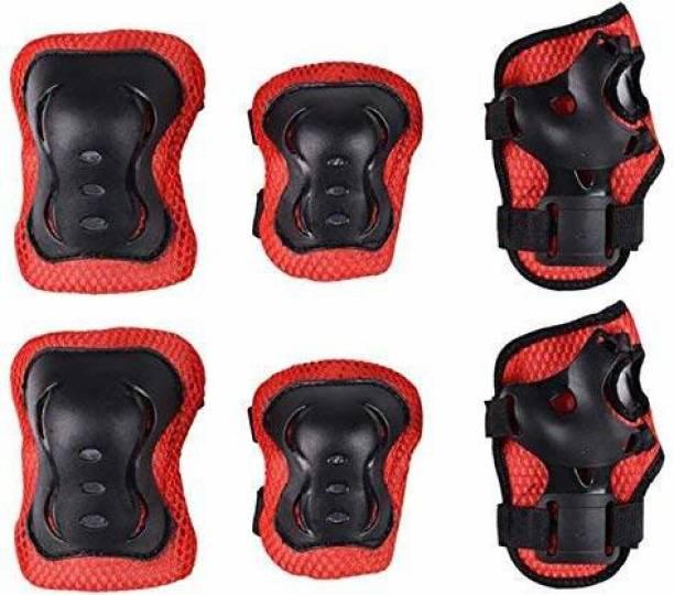 PRAGUS Skating 3 in 1 Protective Set, Skating Kit(Knee,Elbow & Palm Guard) Skating Guard Combo