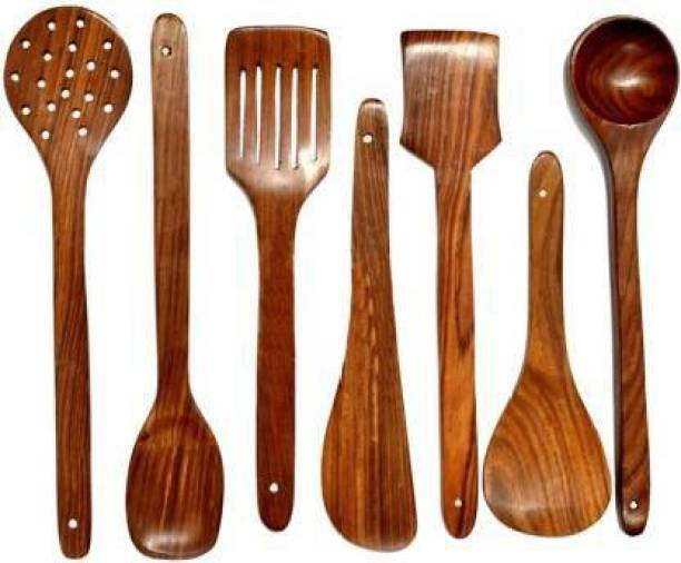 manvi creations Wooden Ladle