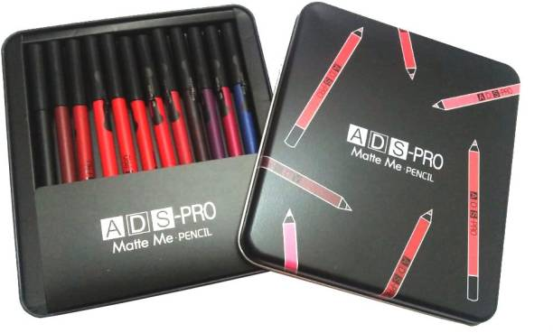 ads PRO MATTE ME PENCIL SET (PACK OF 12 ) BOX