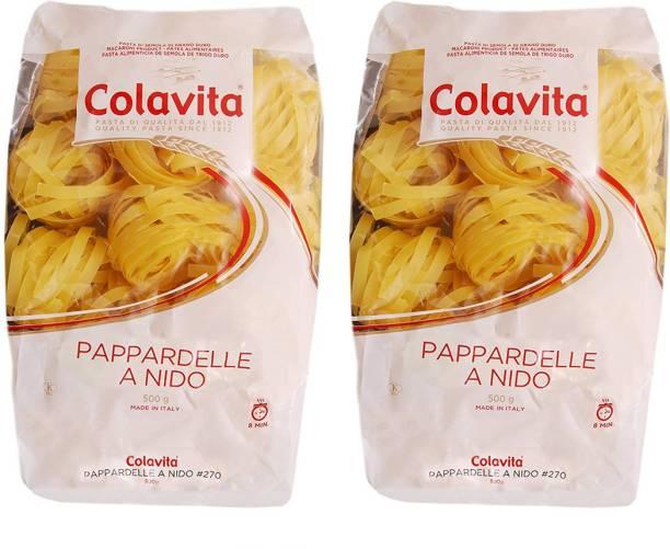 Colavita Pappardelle Pasta Special Shape (Durum Wheat) Pasta
