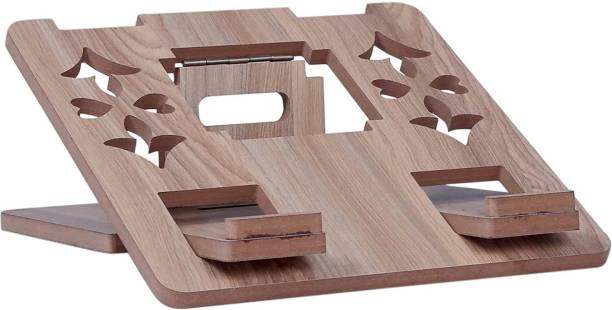 HARIOM ALL IN ONE WOODEN LAPTOP TABLE Laptop Stand