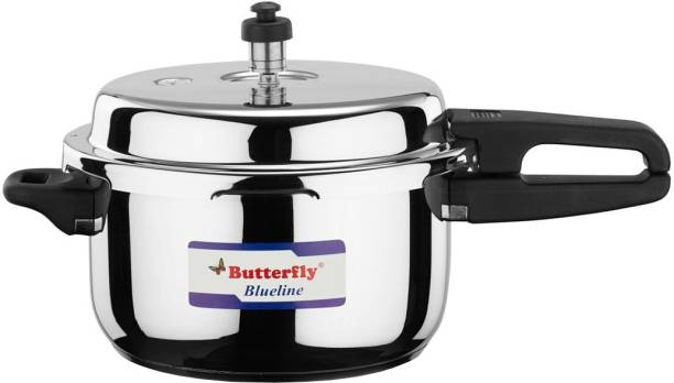 Butterfly Blue Line 5 L Induction Bottom Pressure Cooker