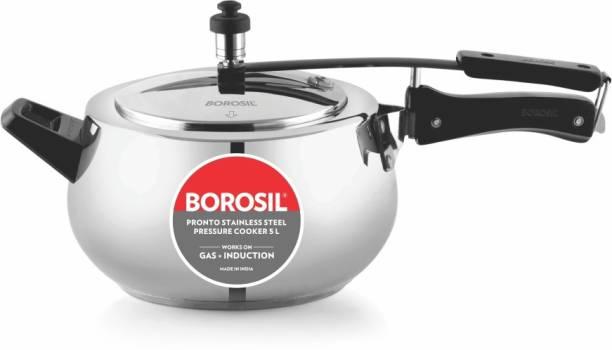 Borosil Pronto 5 L Induction Bottom Pressure Cooker