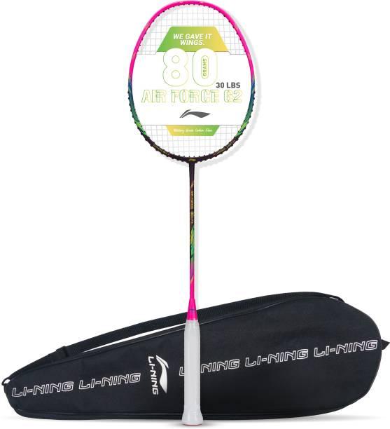 LI-NING AIR-FORCE 80 LITE Purple, Pink Strung Badminton Racquet
