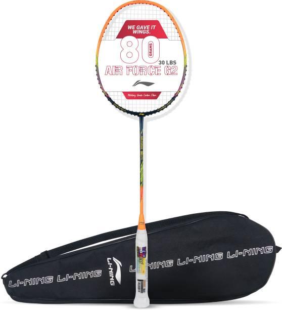 LI-NING AIR-FORCE G2 Lite Multicolor, Black Strung Badminton Racquet