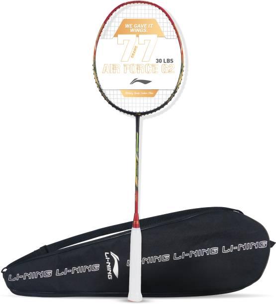 LI-NING AIR-FORCE 77 G2 Black, Red Strung Badminton Racquet
