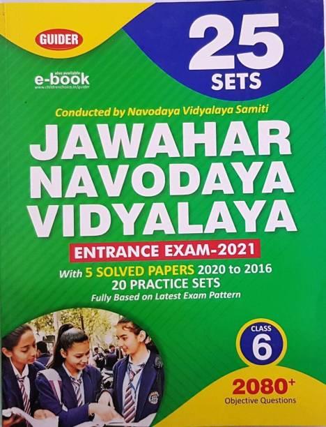 Jawahar Navodaya Vidyalaya Entrance Exam 2021 Class 6- 25 Set