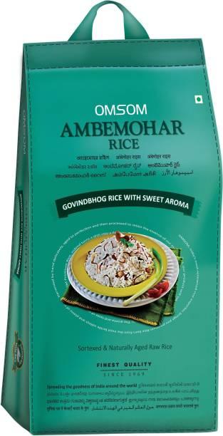 OMSOM Ambemohar Rice Ambemohar Rice (Medium Grain, Raw)