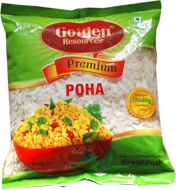GOLDEN RESOURCES Premium Quality Poha , flatten rice Poha