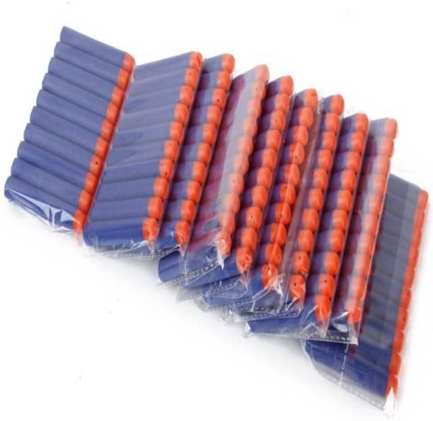 SOMETHING4U Pack of 100) Bullet Foam Dart Bullets for Nerf N-Strike Elite Guns, Darts & Plastic Bullets