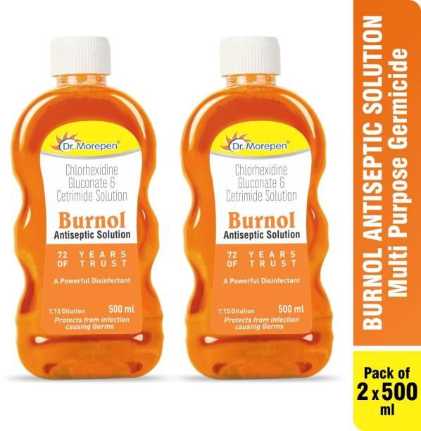 Dr. Morepen Burnol Solution and Disinfectant Antiseptic Liquid