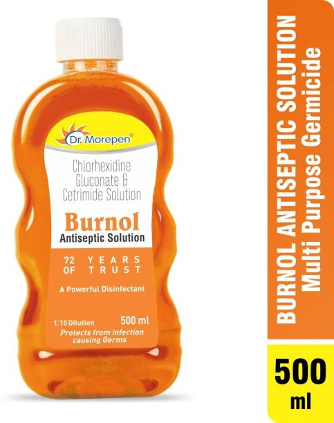 Dr. Morepen Burnol and Disinfectant Solution Antiseptic Liquid