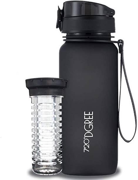 720°DGREE Tritan Fruit Infuser BPA Free Water Bottle 650ml for Gym, Sports, Office, etc. 650 ml Bottle