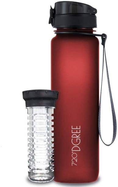 720°DGREE Tritan Fruit Infuser BPA Free Water Bottle 1 litre for Gym, Sports, Office, etc. 1000 ml Bottle
