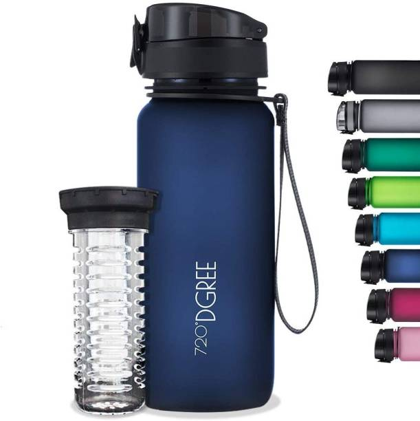 720°DGREE Tritan Fruit Infuser BPA Free Water Bottle 650ml for Gym, Sports, Office, etc. 650 ml Bottle