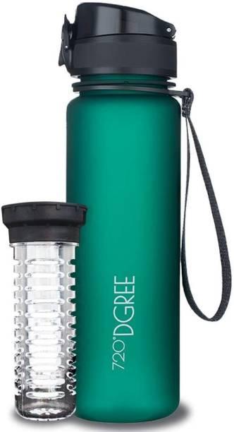 720°DGREE Tritan Fruit Infuser BPA Free | 100% Leak Proof | Gym Fitness Sports Yoga Travel | 500 ml Bottle