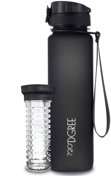 720°DGREE Tritan Fruit Infuser BPA Free Water Bottle 1000ml for Gym, Sports, Office, etc. 1000 ml Bottle
