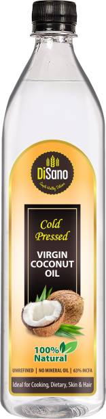 DiSano Cold press Virgin Coconut Oil Coconut Oil Plastic Bottle