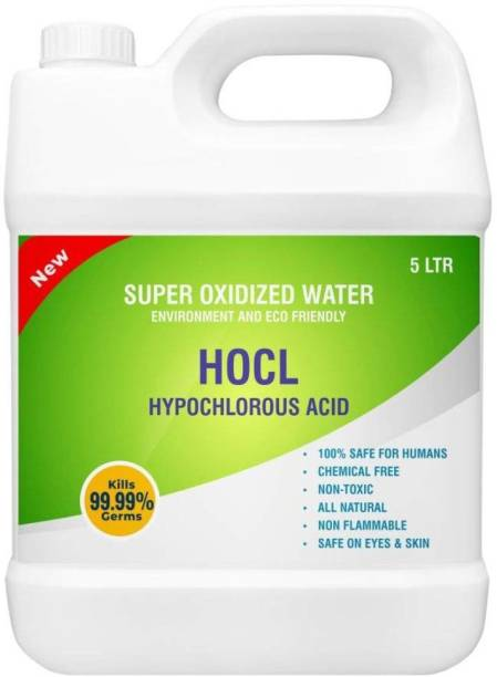 HARRODS Hypochlorous Acid 100% Safe For Human Non Toxic Natural Product Chemical and Alcohol Free Concentrated