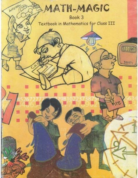 Math Magic Textbook in Mathematics for Class - 3